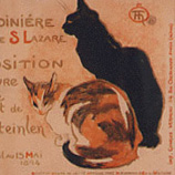 D 0085 Theophile Alexander Steinlen - Expo The cats of A la Bodinière