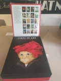 Cats In Art 20 Cards